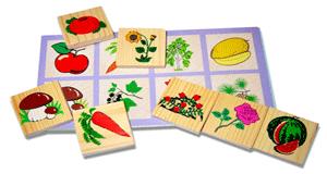 Игры на развитие памяти и речи дошкольников. Часть 1.  Игра «Запомни картинки»